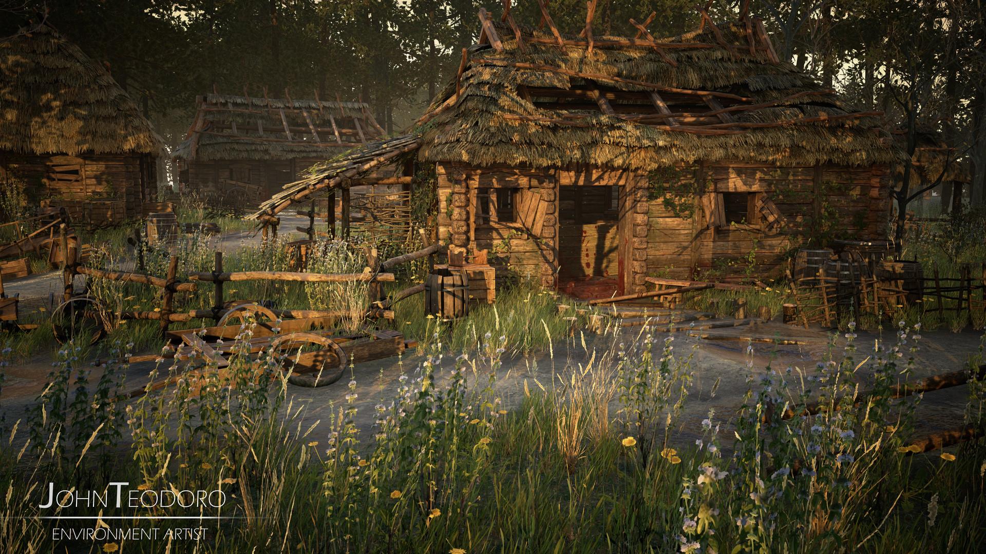 Abandoned Village – Unreal Engine 4 by John Teodoro – zbrushtuts
