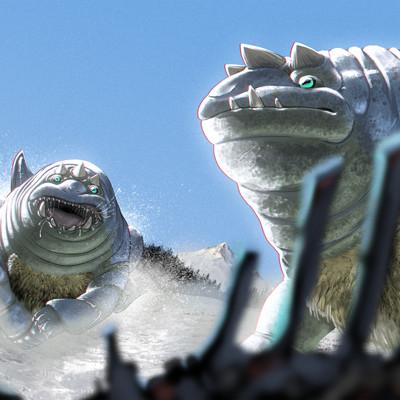 Javier valdez dracobufo arcticus in life 5