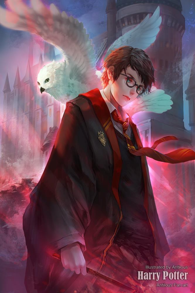Artstation Harry Potter Antilous Chao