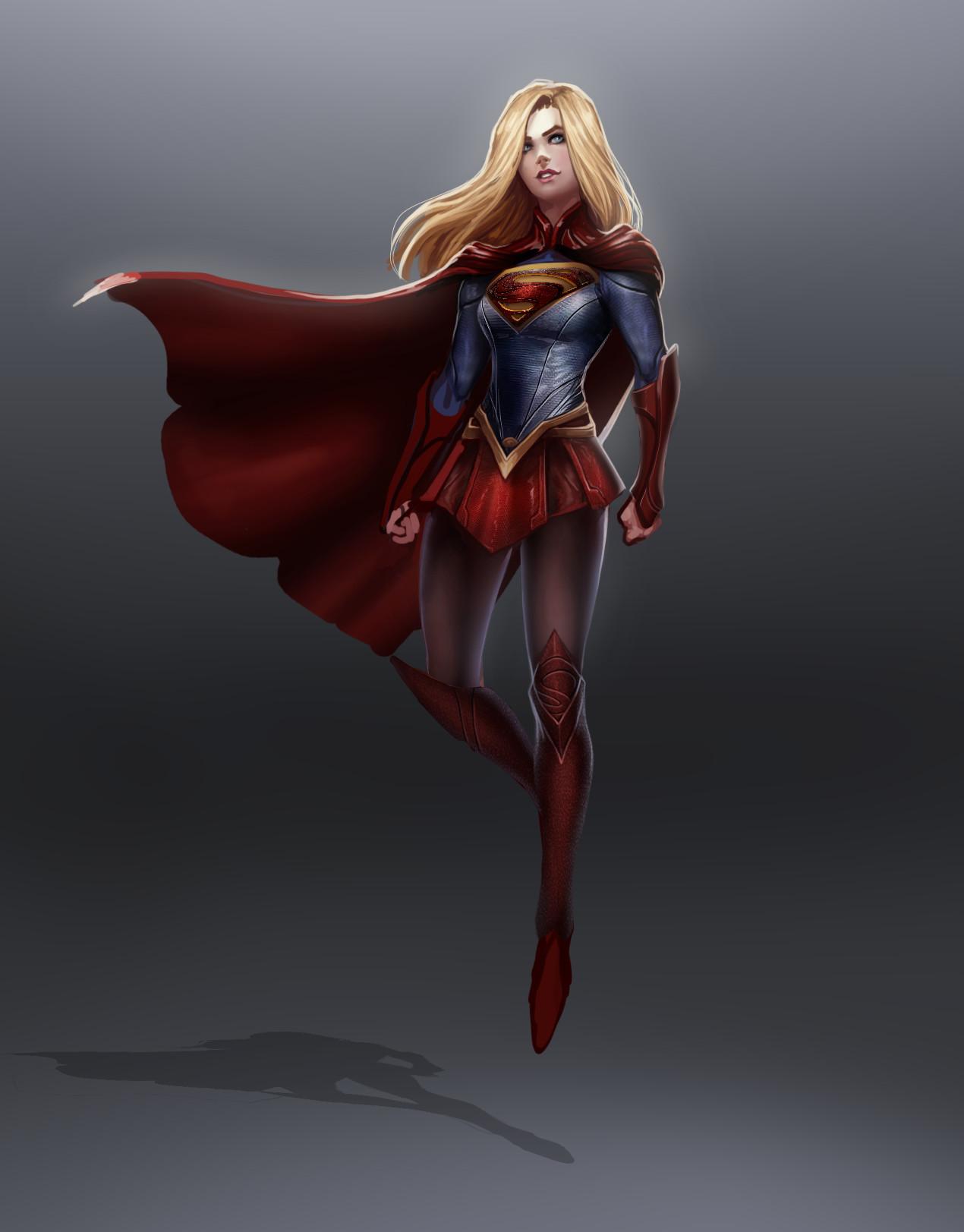 Thomas randby supergirl