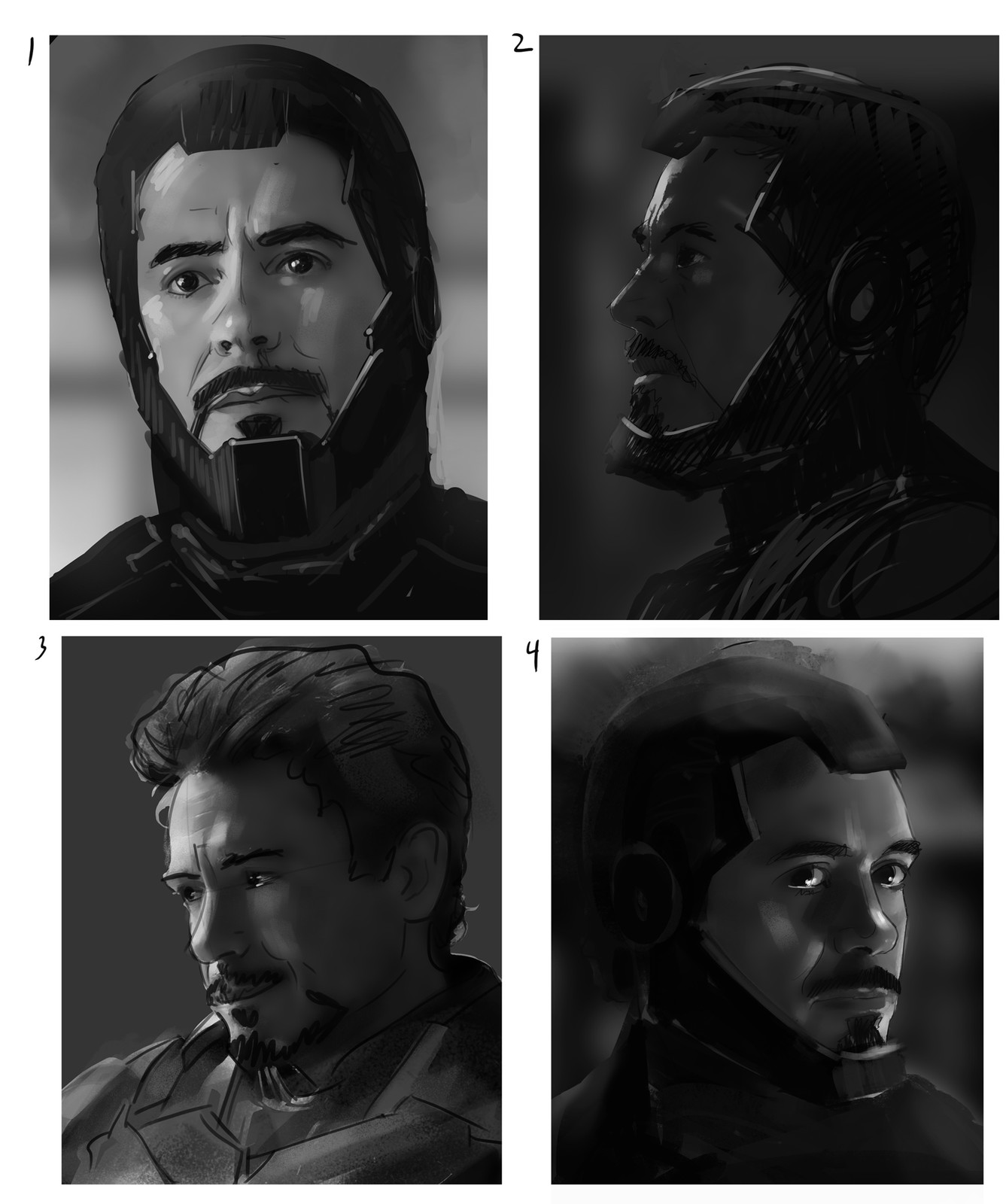 Iron Man Sketches