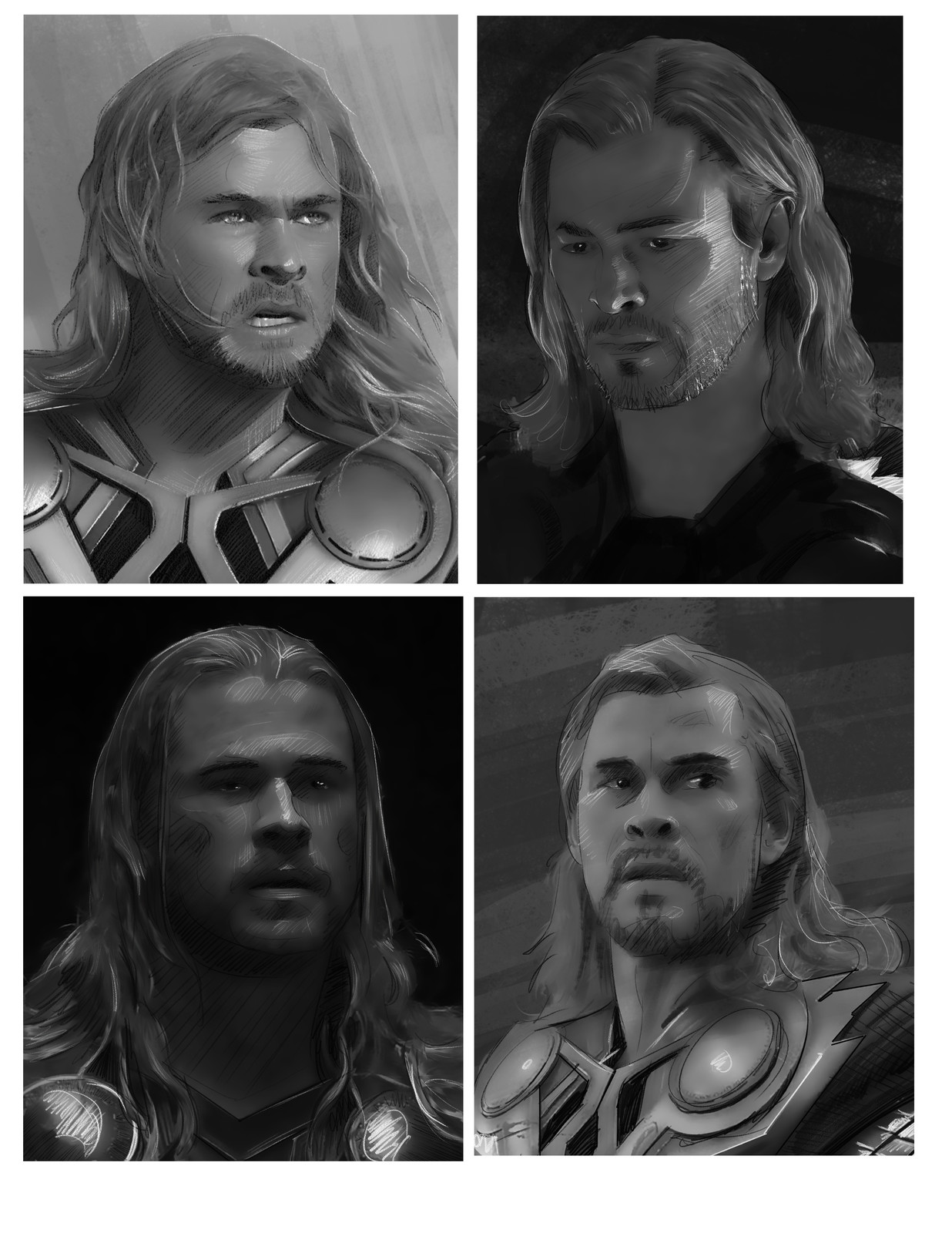 Thor Sketches