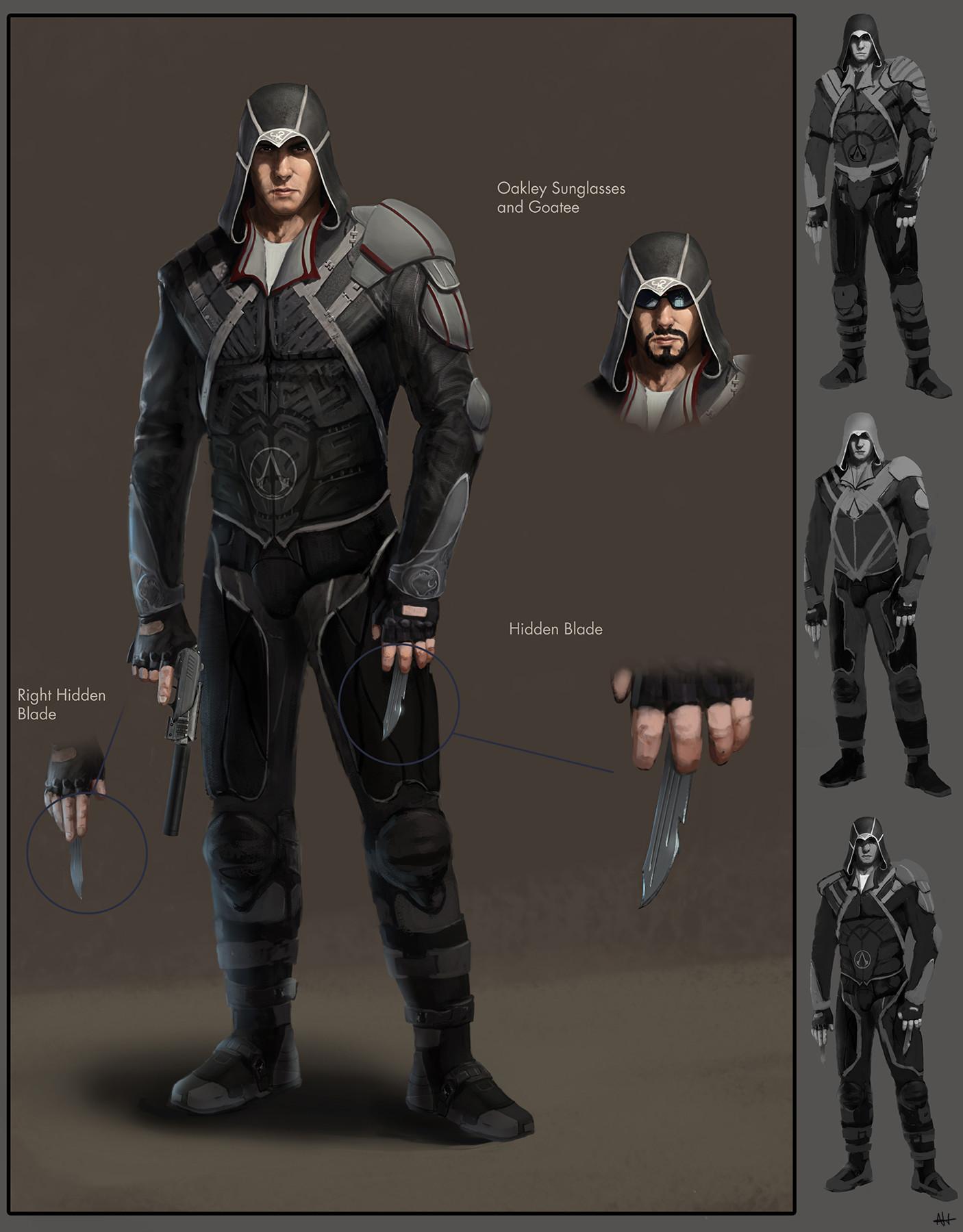 Desmond Miles (Modern Assassin)