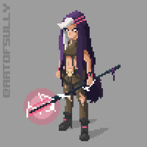 'Sorceress' Animated Sprite (Commission)