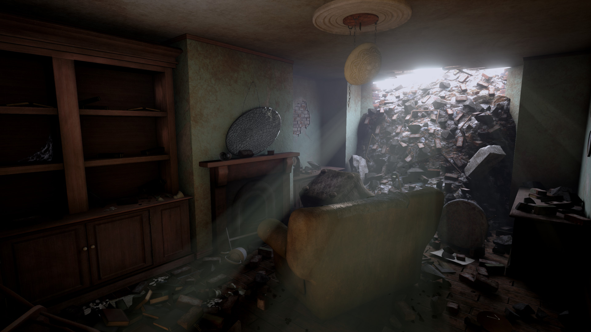 1940u0027s Living Room (UE4)