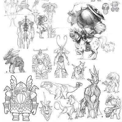 Edin durmisevic sketchbook page