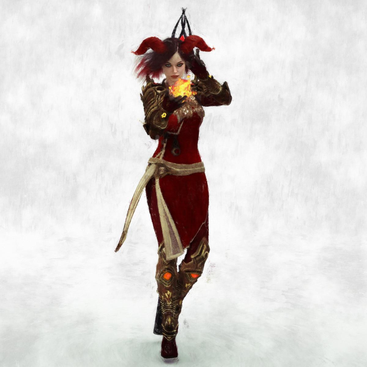 Lilyis Shadowhorn