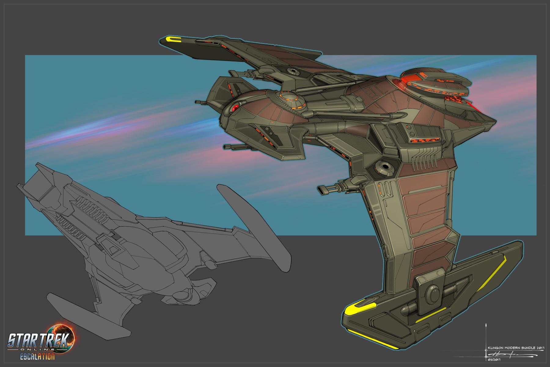 Hector ortiz klingon modern bundle render 2