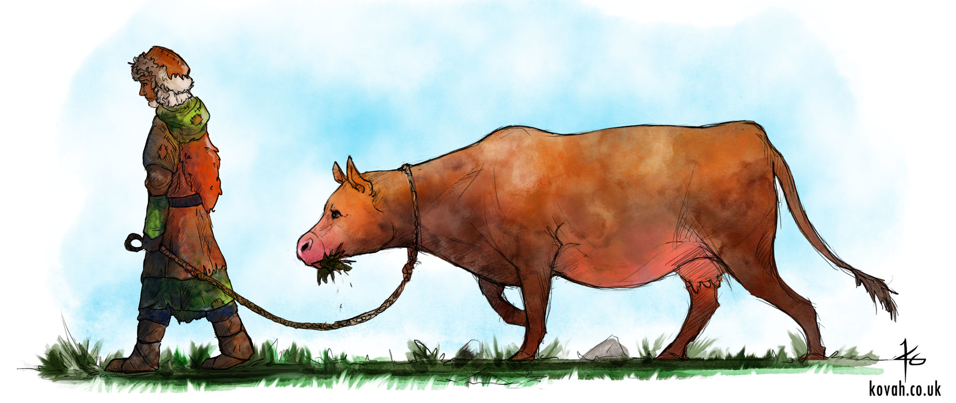 Katy grierson cow2