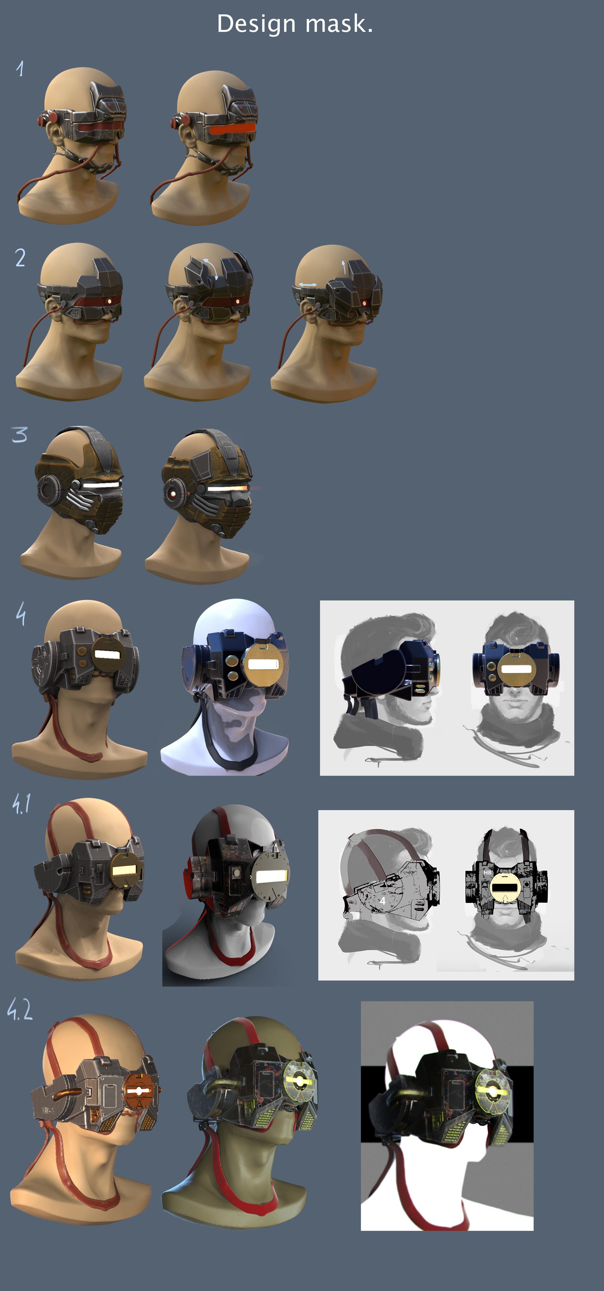 Alexandr iwaac mask design