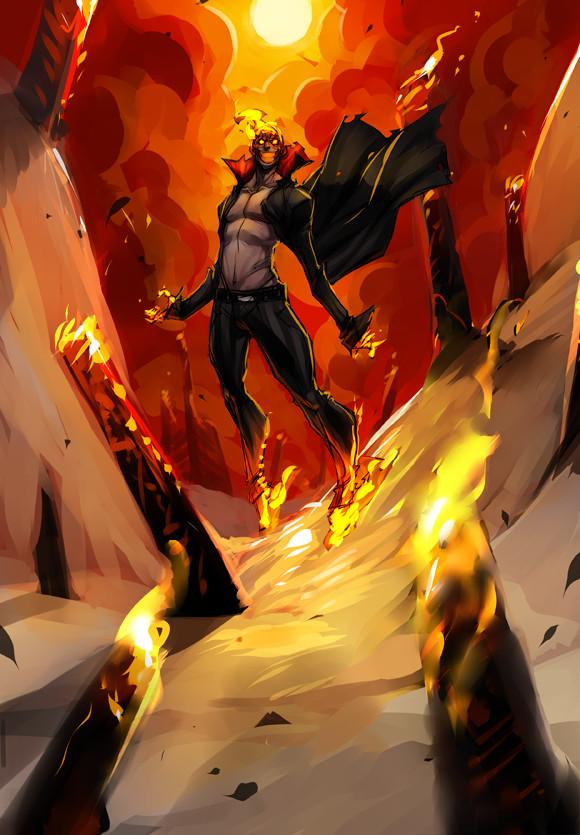 Jerome brulin pyromancer