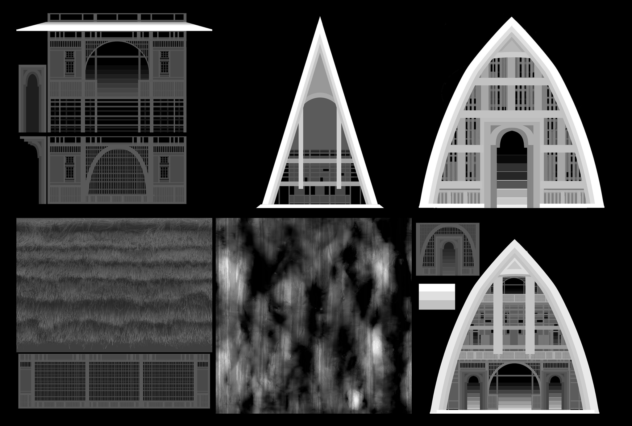 Displacement maps