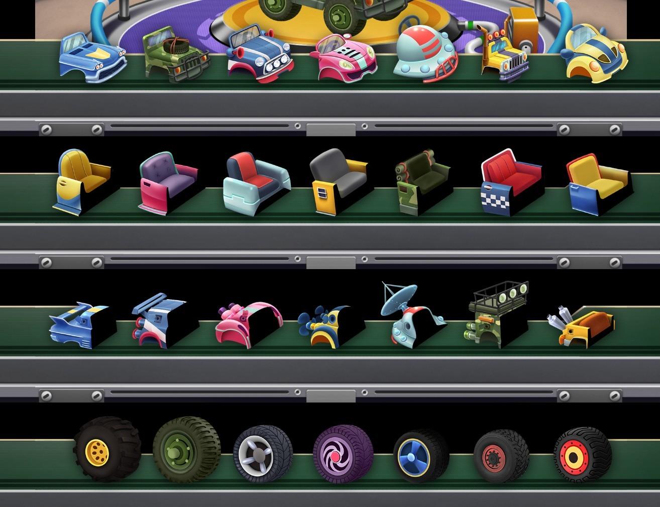 UI design - Car elements