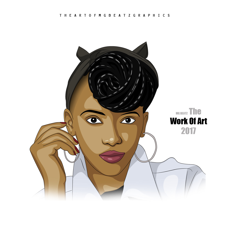 Artstation Gigi Lamayne 2018 And 2019 Cartoon By Muthaphuli Sydney Sydney Mg Beatz Muthaphuli