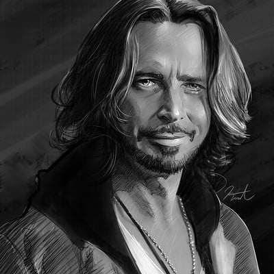 Andrew hunt chris cornell digital pencil