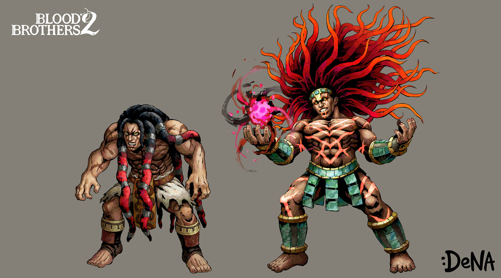 Blood Brothers 2 Characters Ft. Street Fighter