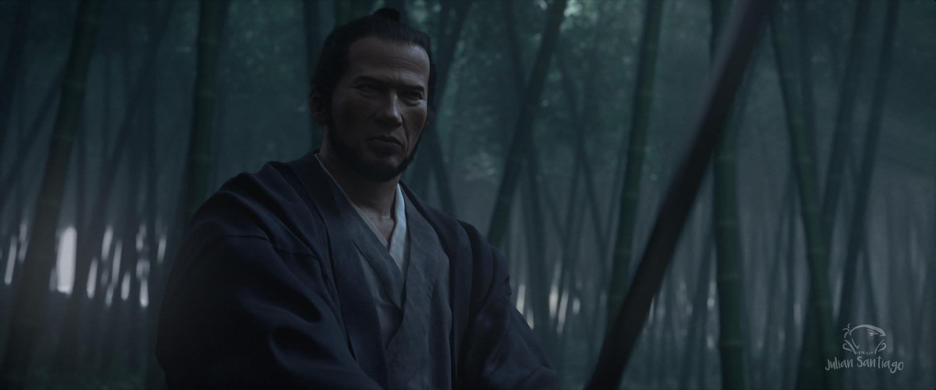 Julian santiago juliansantiago samurai darkstill