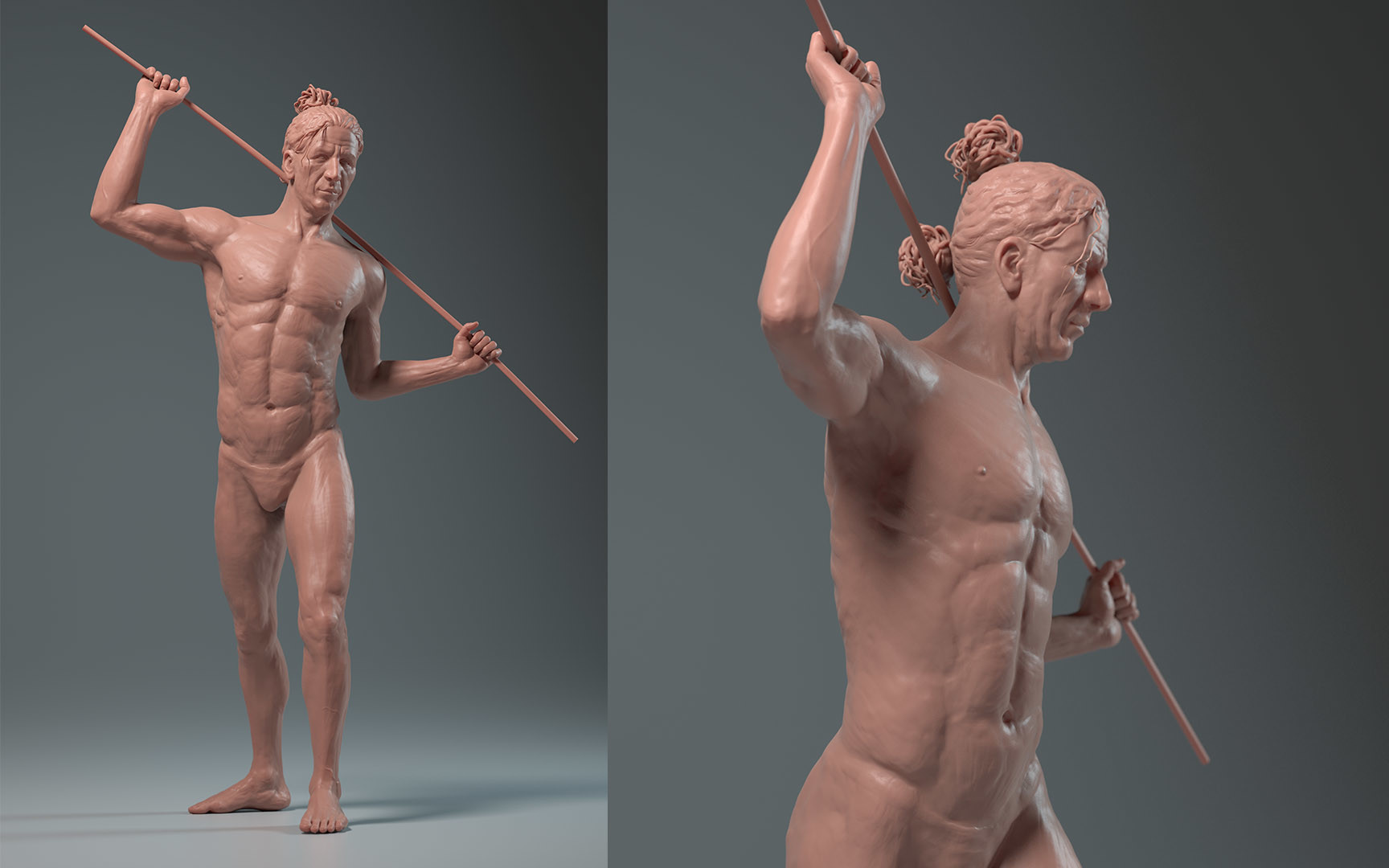 Carl christian gehl anatomystudy fullfigure front