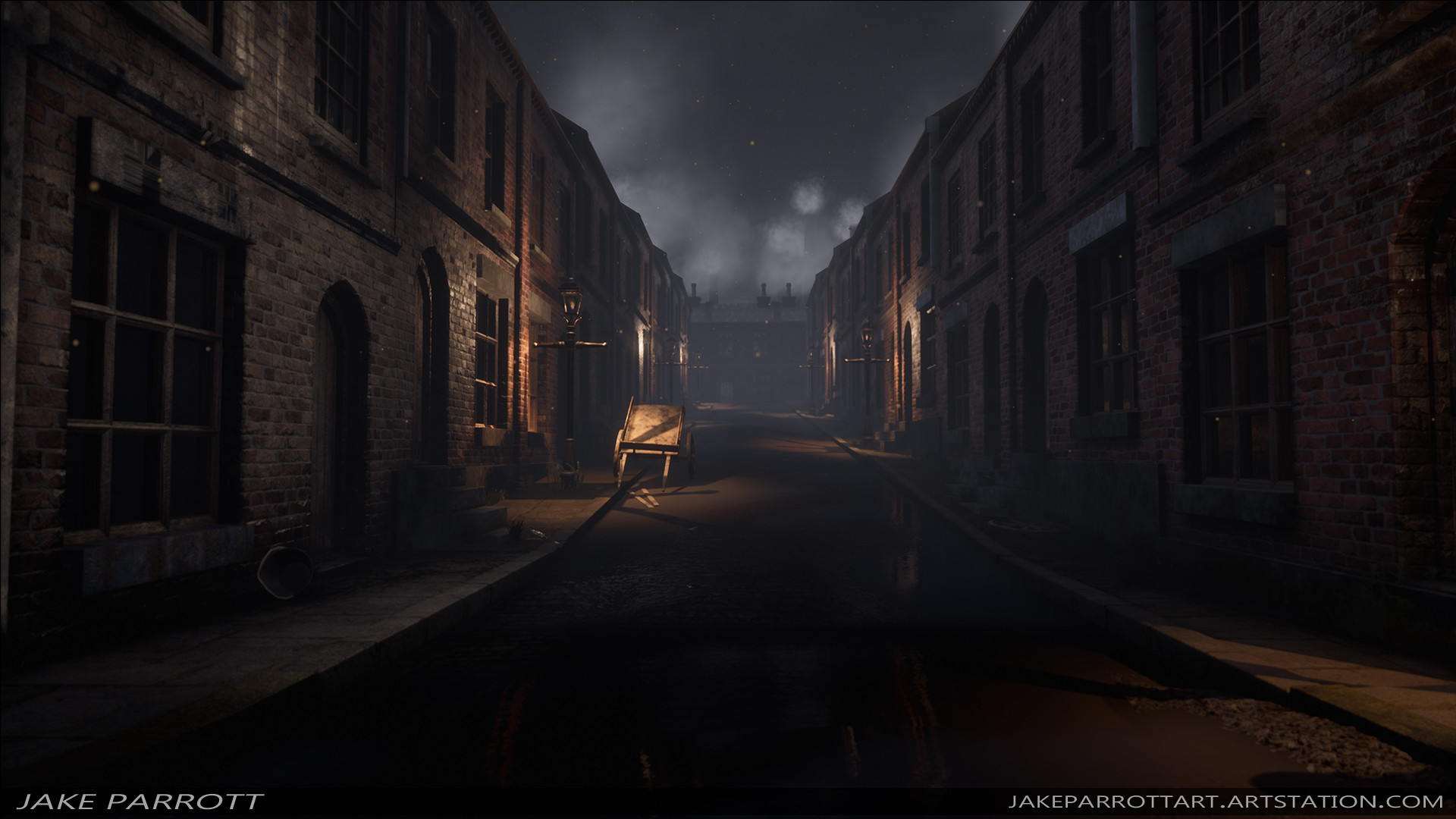 Jake Parrott Final Year Project Victorian Streets And