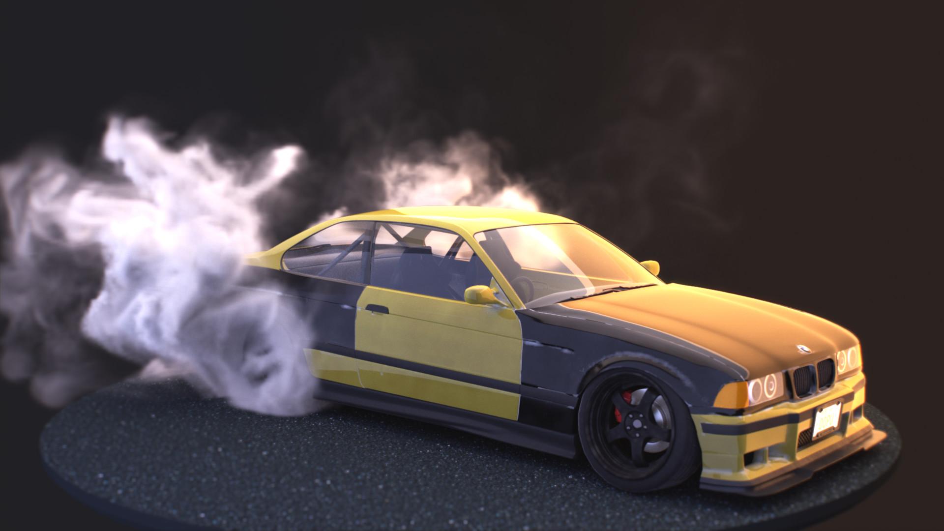 Daniel Du Plessis Drift Spec Bmw M3 E36