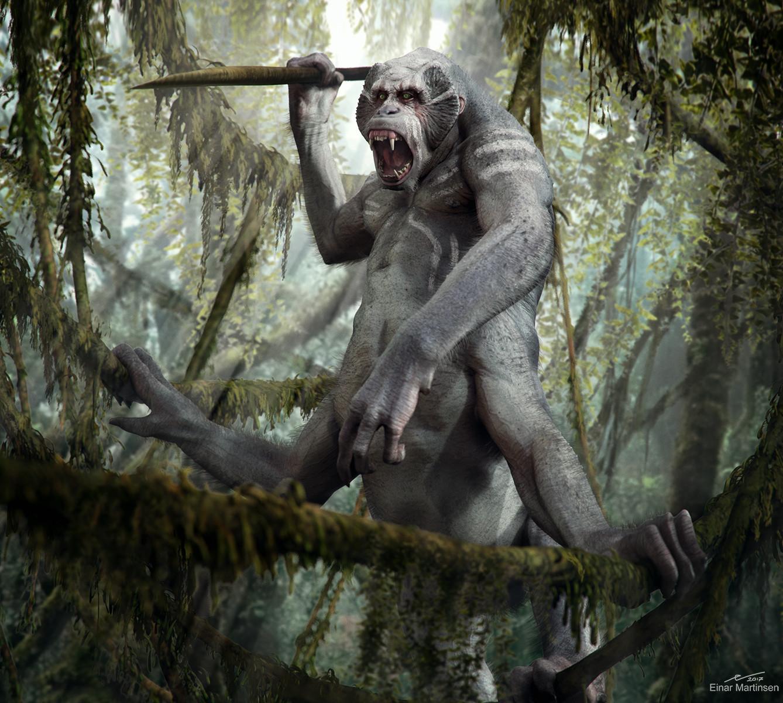 Primate warrior