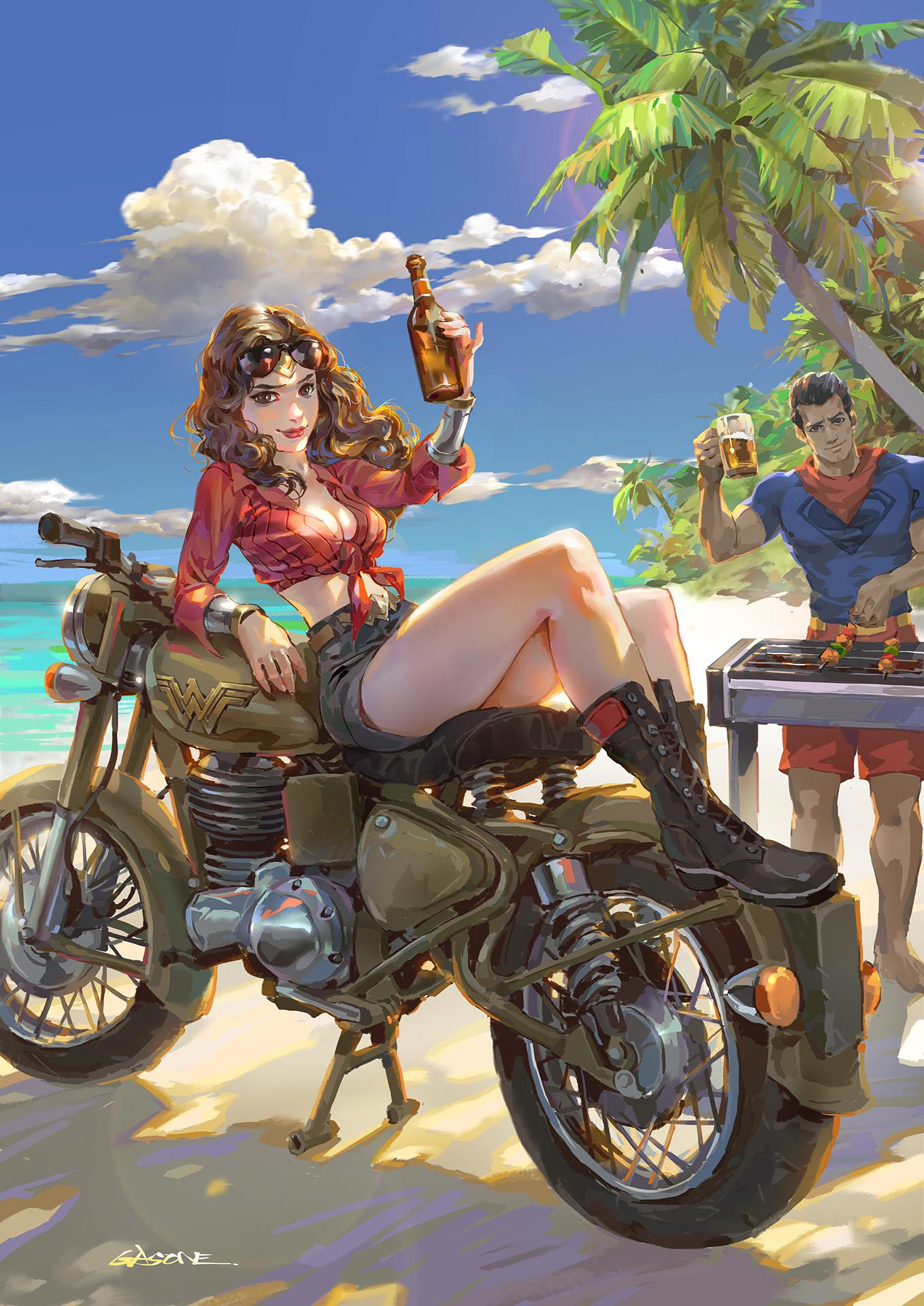 Shengyi Sun Wonder Woman