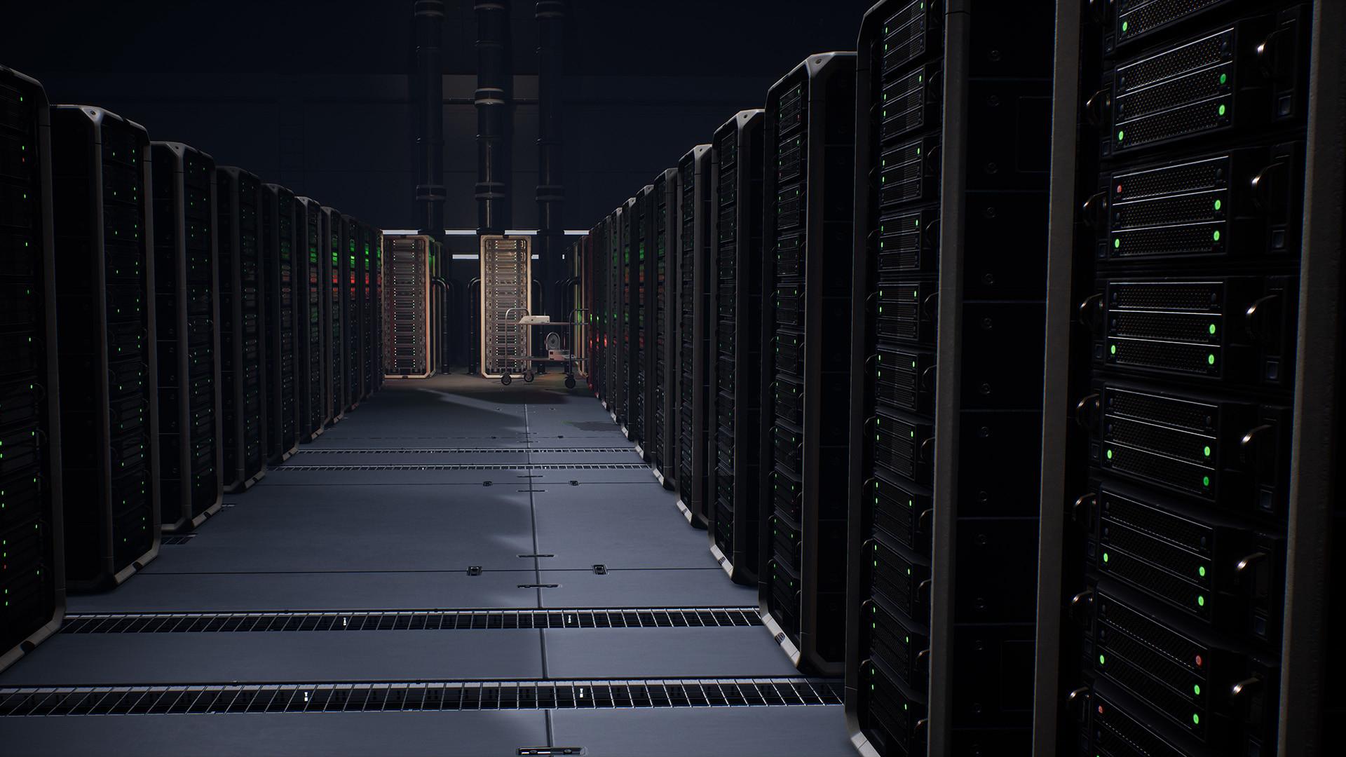 Hauke thiessen serverroom