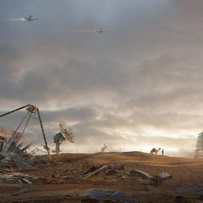 Sti 911 desert ruins