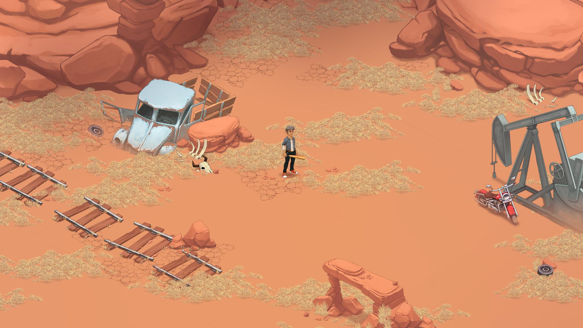 ArtStation - Dead Maze: Desert environment, Mathias Fekete