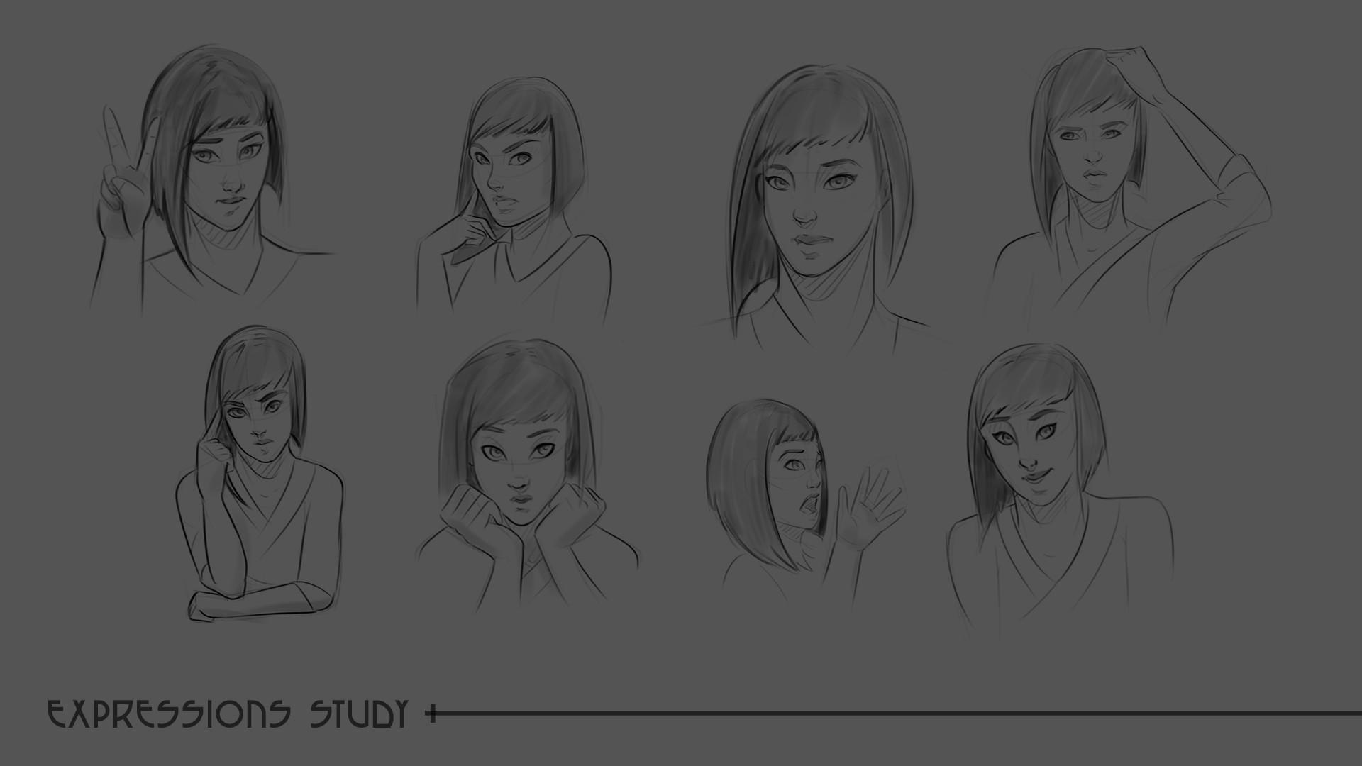 Laura escobar mulan expressions 1