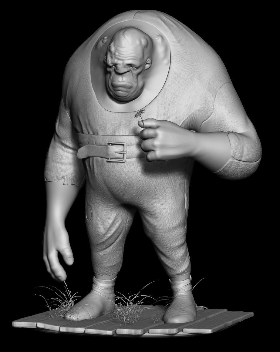 Wil hughes posedsculpt