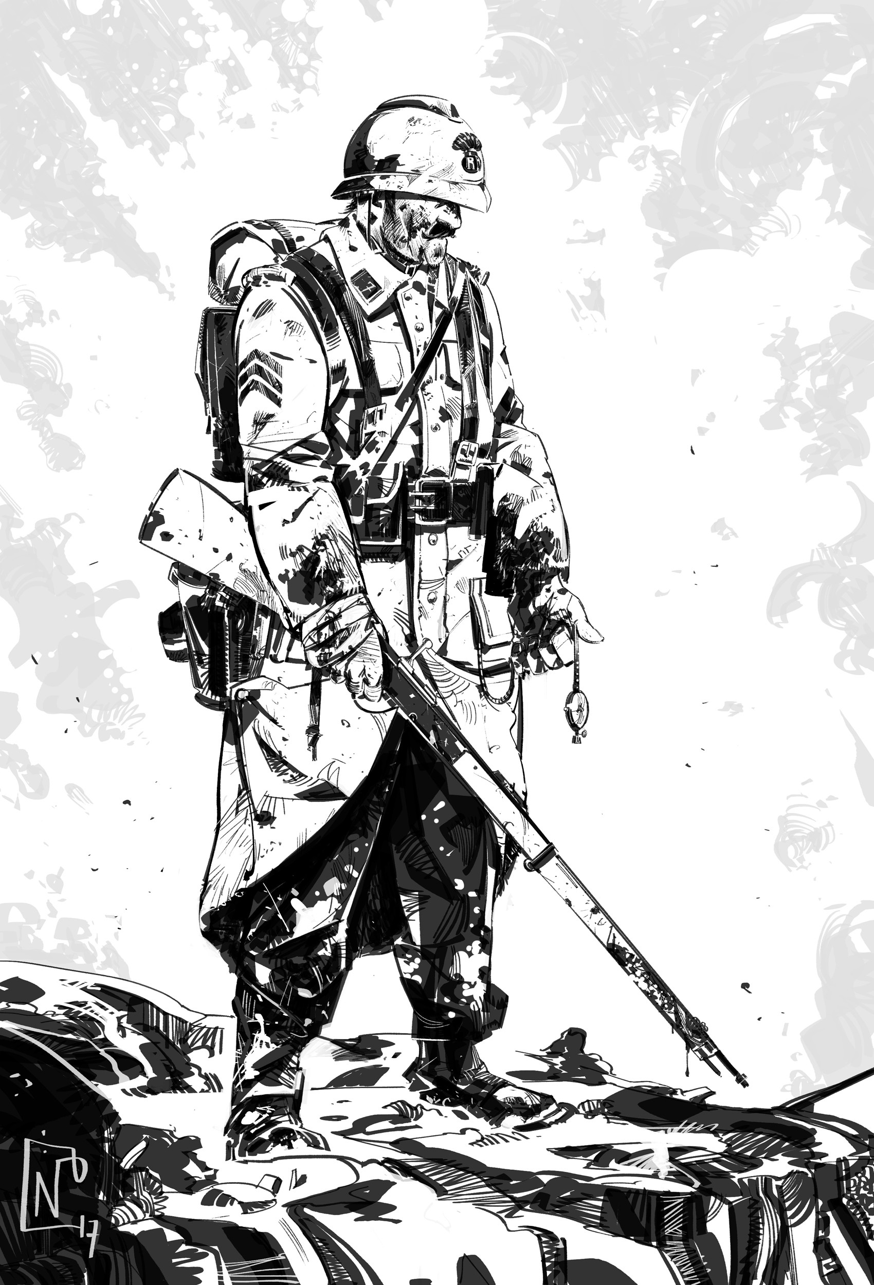Nicolas petrimaux ww1 soldier 07