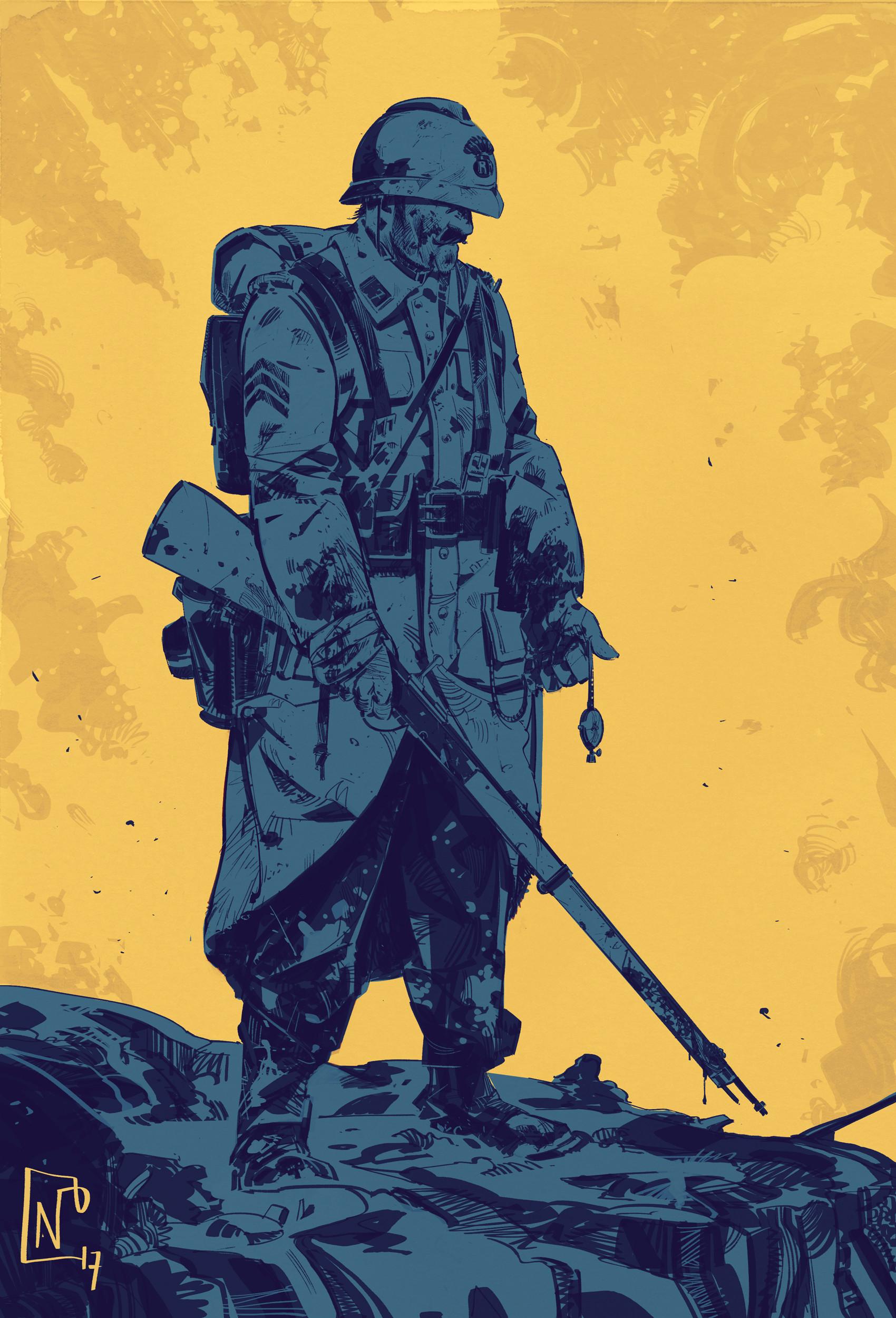 Nicolas petrimaux ww1 soldier 09