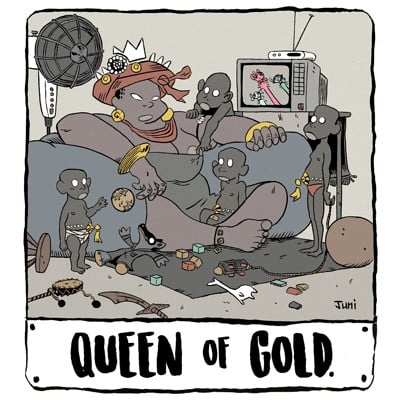 Juni ba queen of gold an african tale