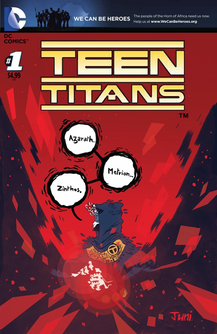 Afro Teen Titans variant