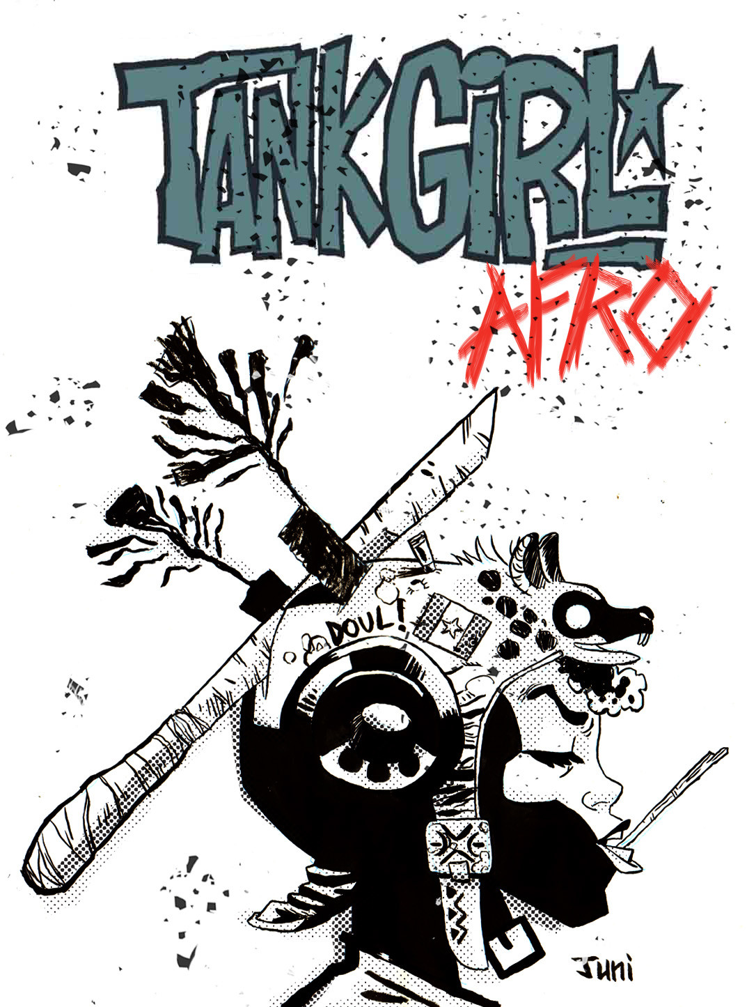 Afro Tank Girl variant