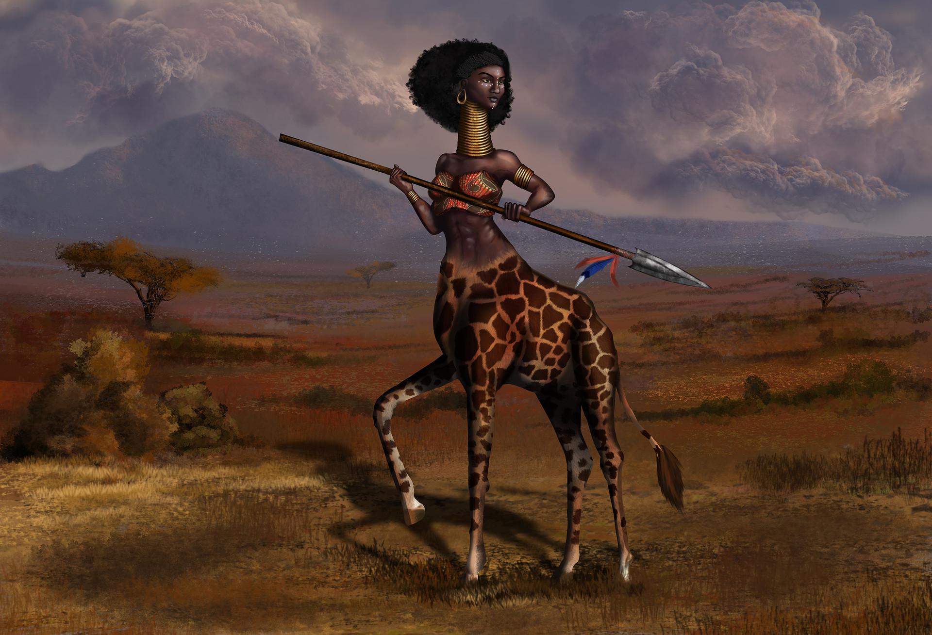 Joanna efenberger giraffe centaur