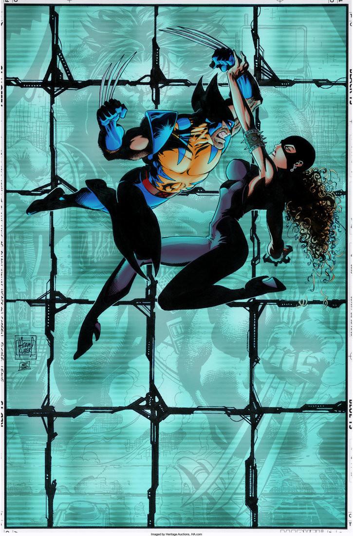 Matt james wolverine issue 97 cover vs chimera by snakebitartstudio dba4y7h
