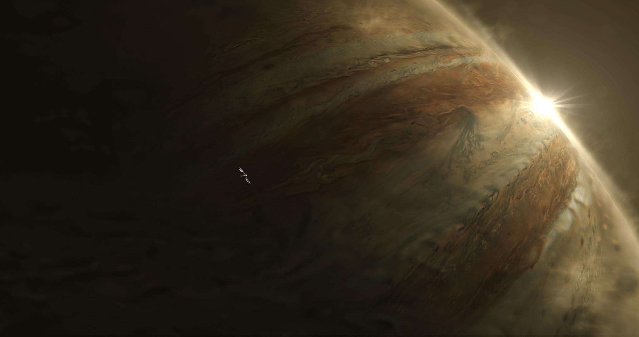 Jupiter matte used in AE