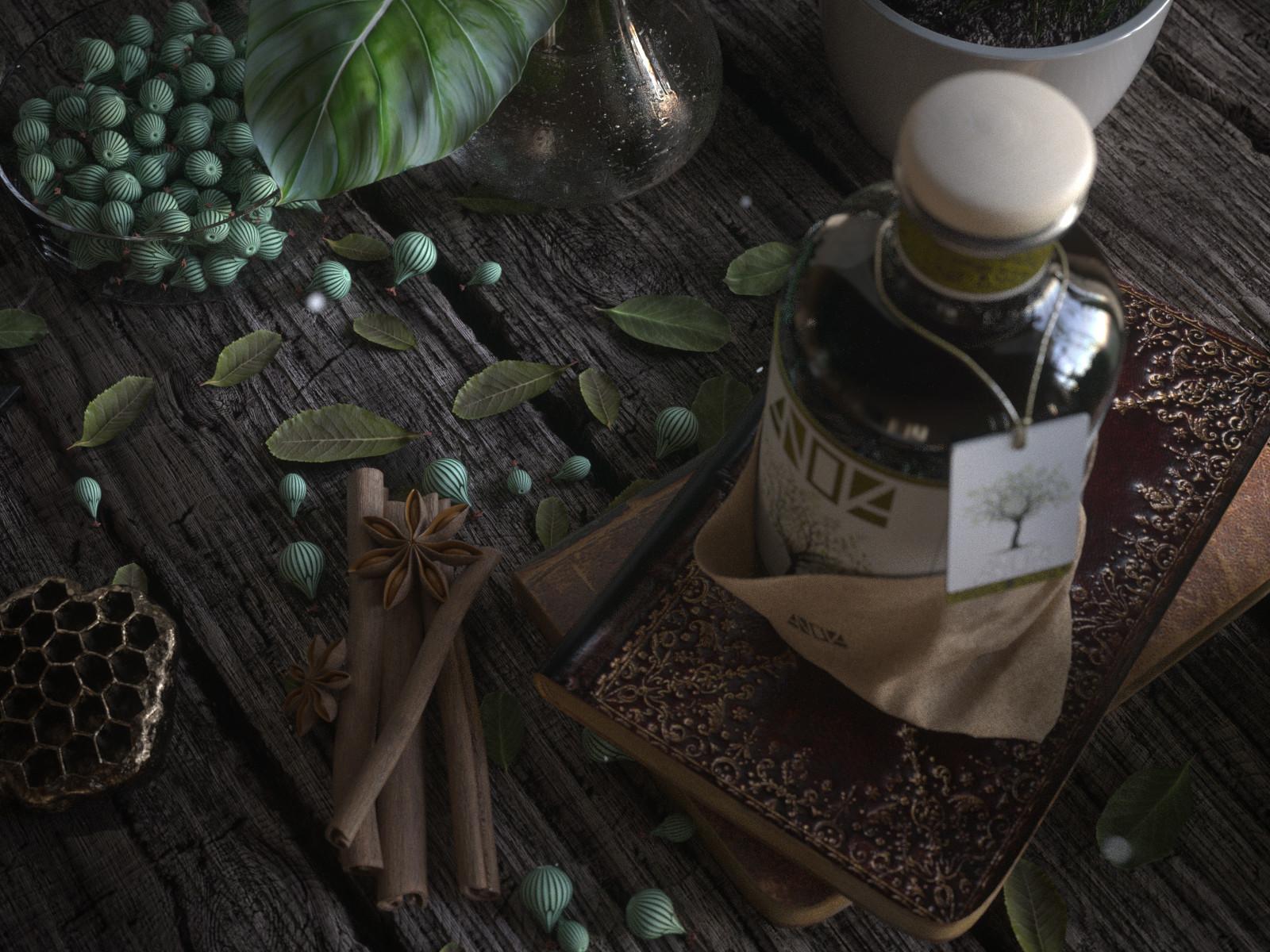 Anova Olive Oil - Still Life