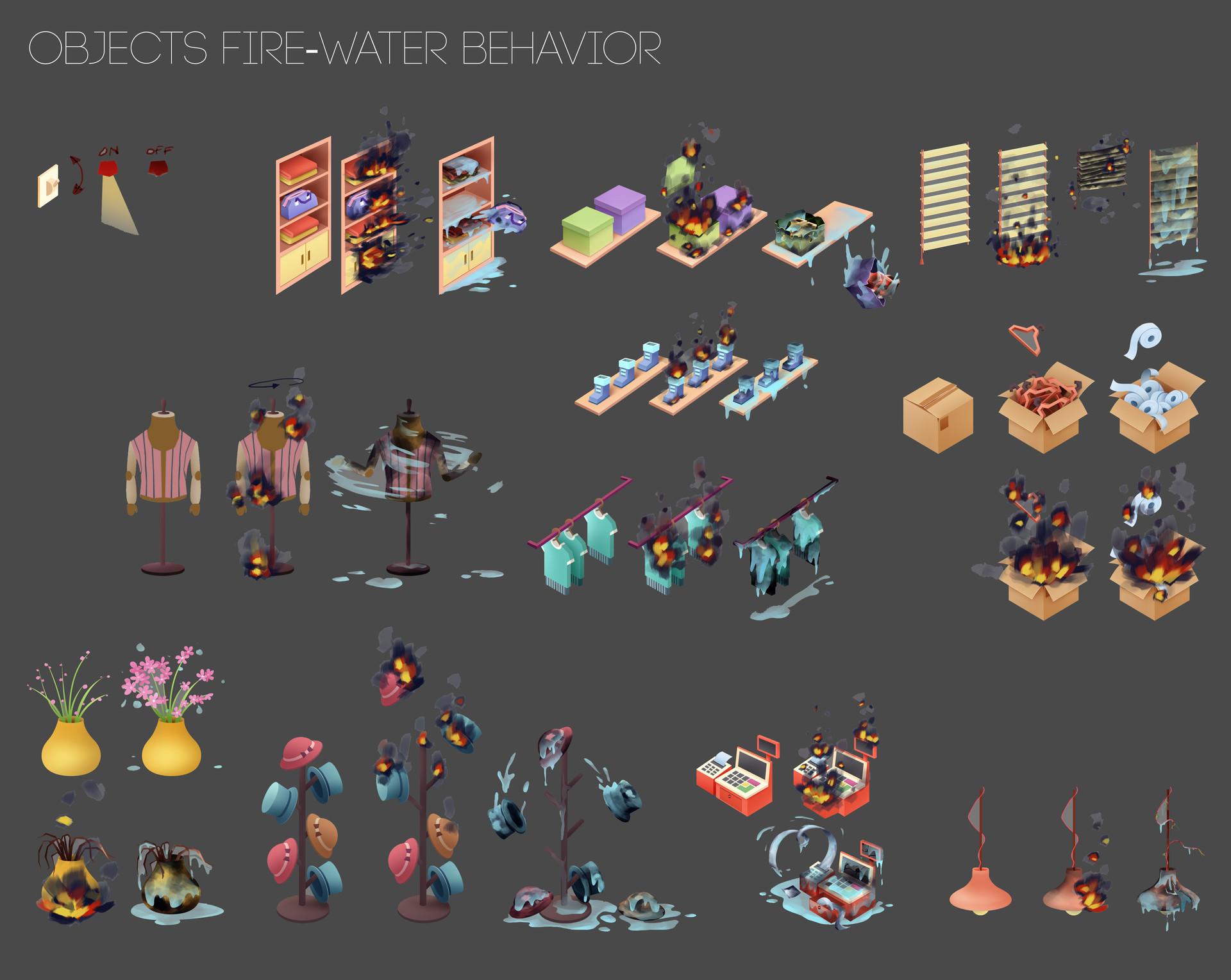 Thu phan artstation objectsfirewaterbehavior