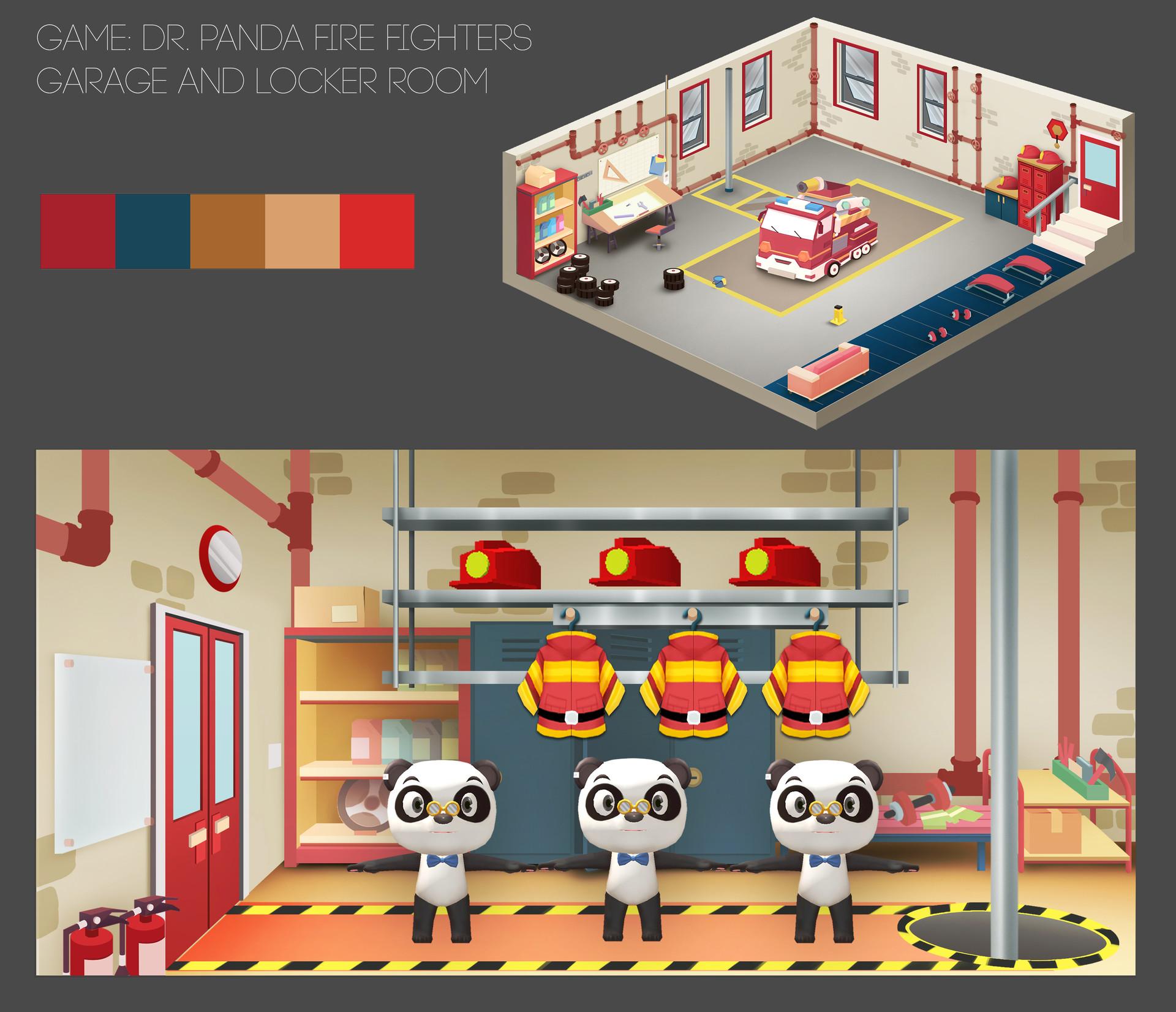 Thu phan artstation dressingroom