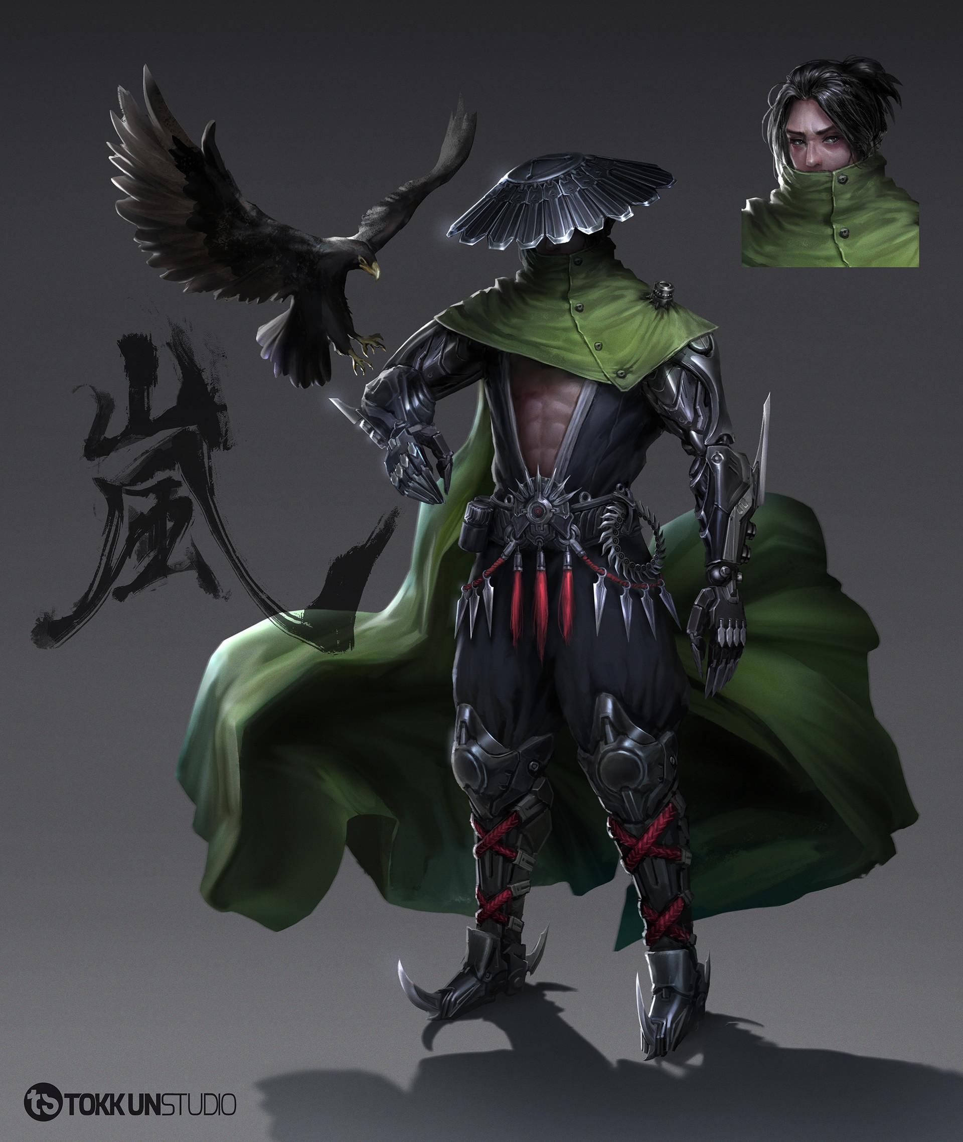 Tokkun studio character 3