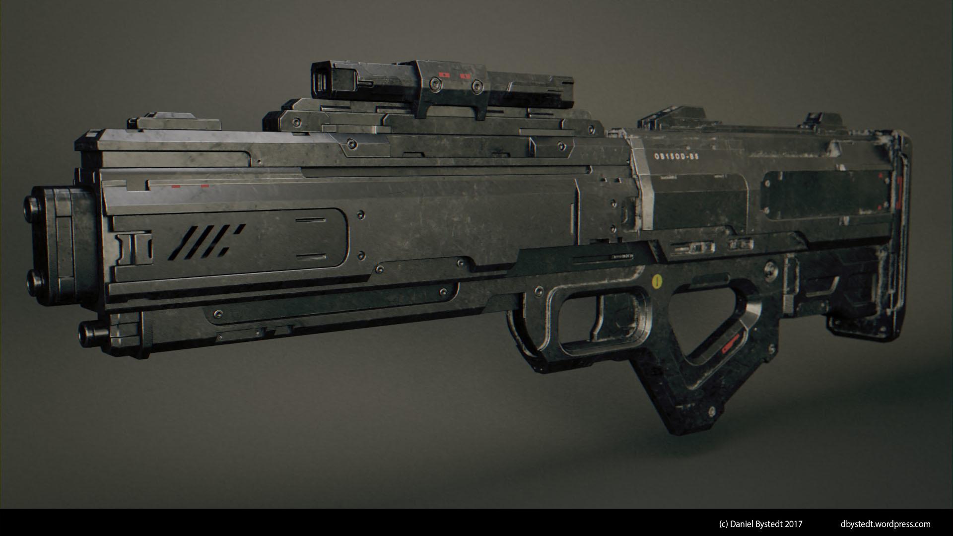 Daniel bystedt sci fi rifle 001