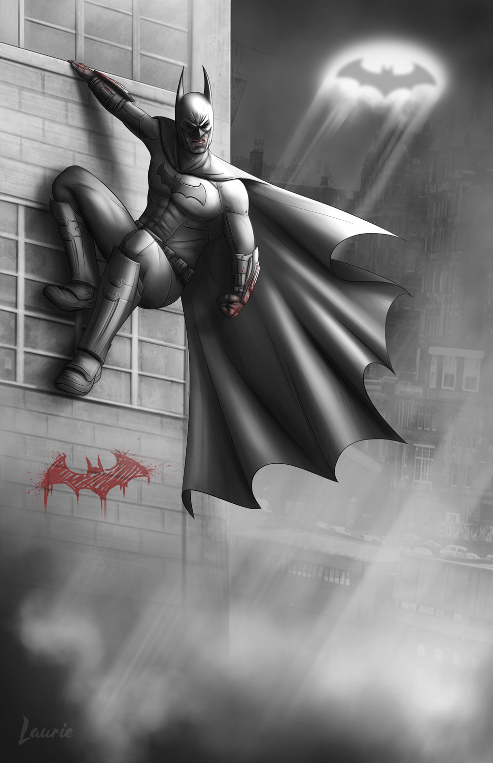 Laura escobar arkham batman night