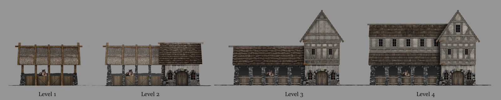 Medieval stables upgrade