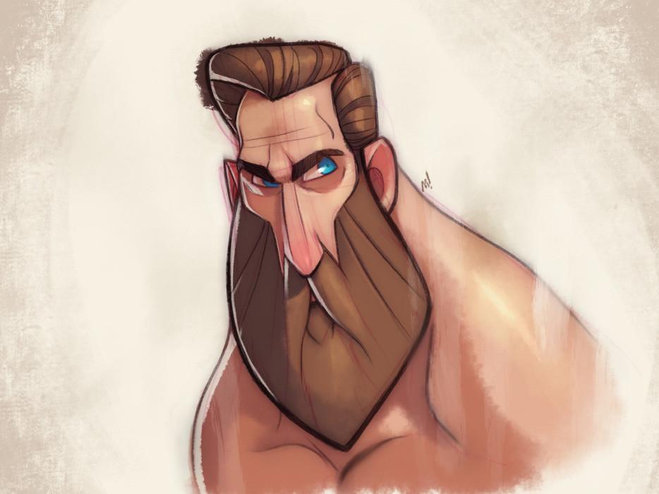 Beard Man Cometh