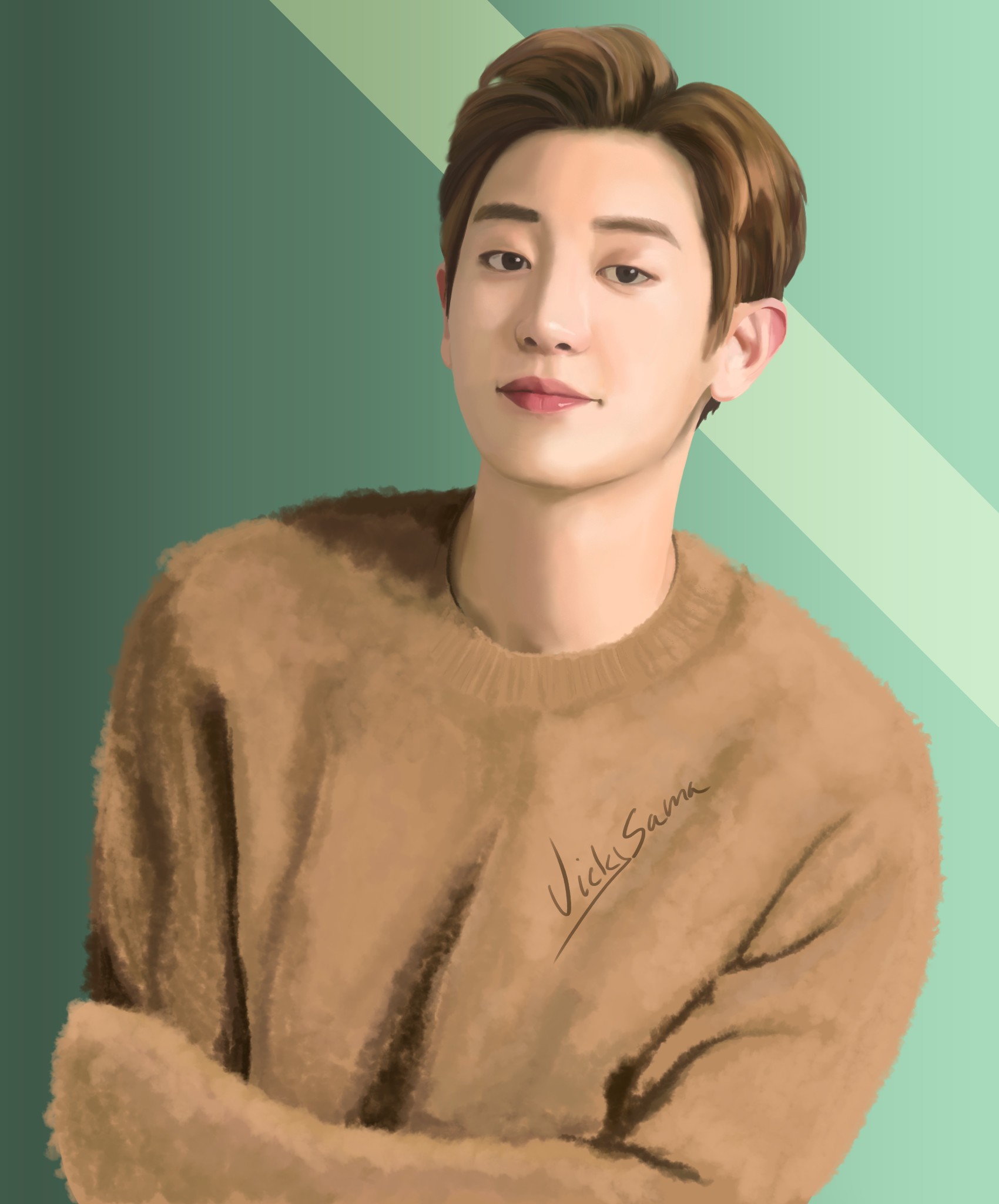 Artstation Exo Chanyeol Vicky Sama
