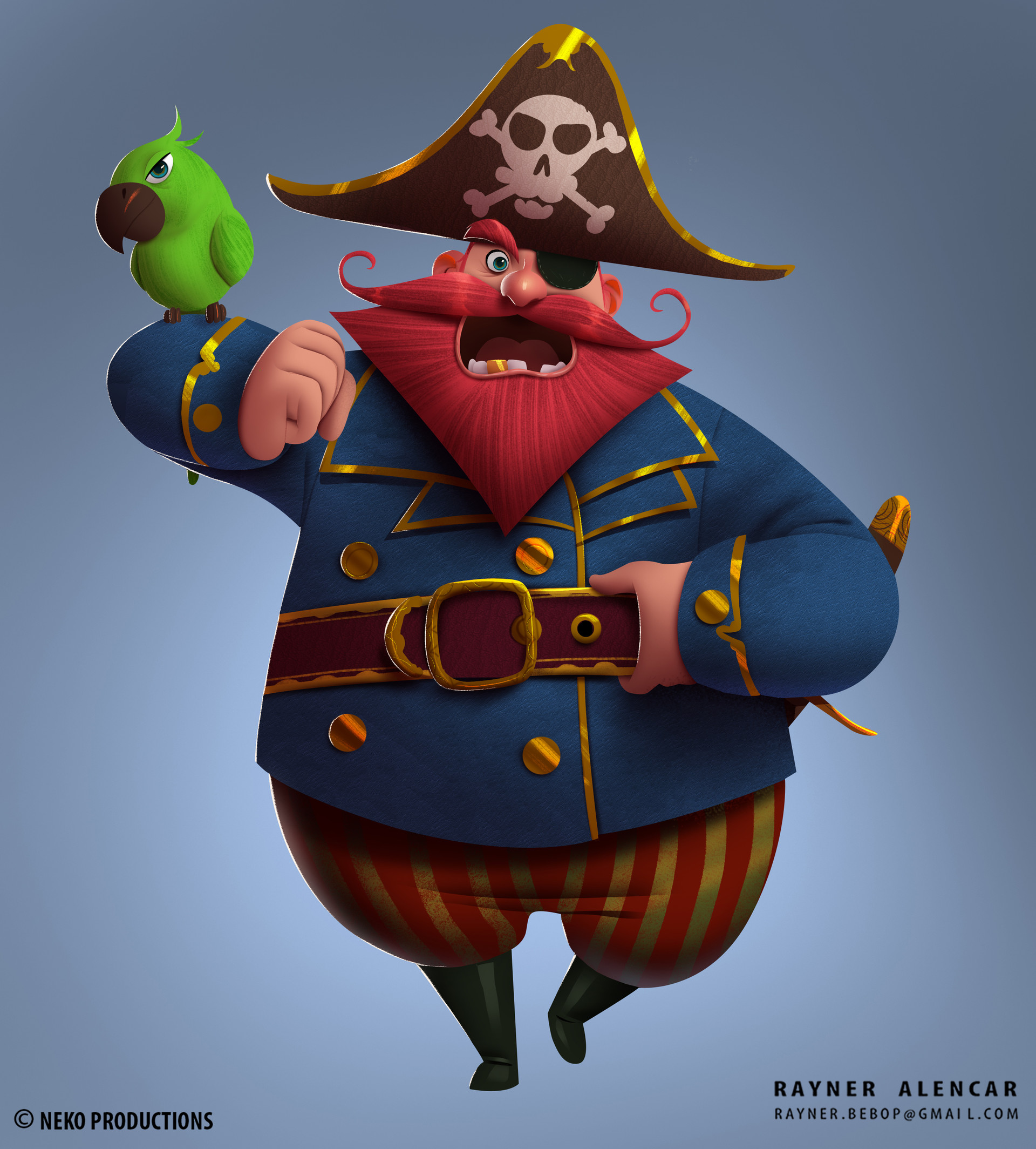 Rayner alencar postar pirata