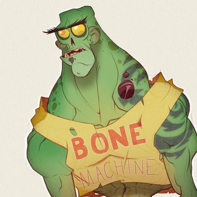 Mike henry bone machine by zatransis db1otnu